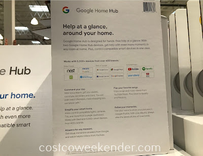 Costco 1284004 - Google Home Hub: great for any home of the 21st century