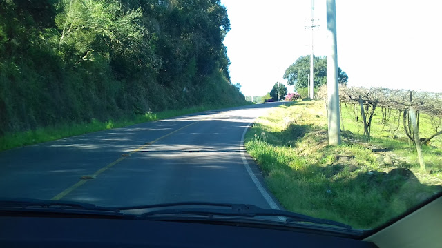 Estrada para Nova Pádua