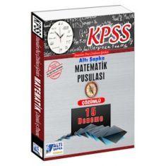 Altı Şapka KPSS Matematik Pusulası Çözümlü 15 Deneme (2016)
