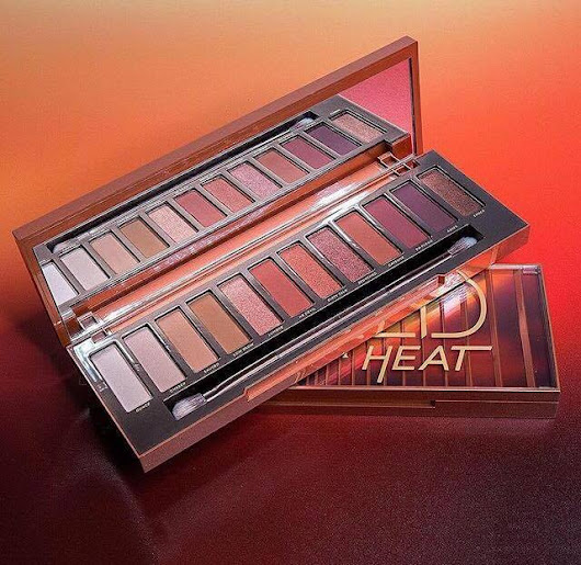 QUICK LOOK | NEW URBAN DECAY NAKED HEAT PALETTE