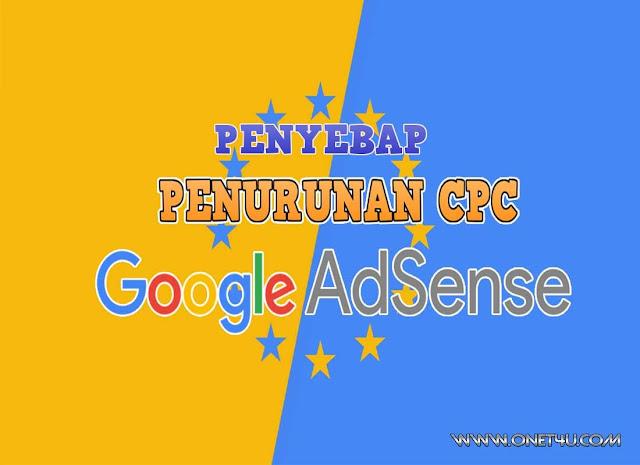 Punca CPC AdSense Turun Secara Drastik