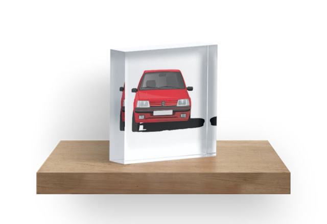 Peugeot 205 GTi gift decors