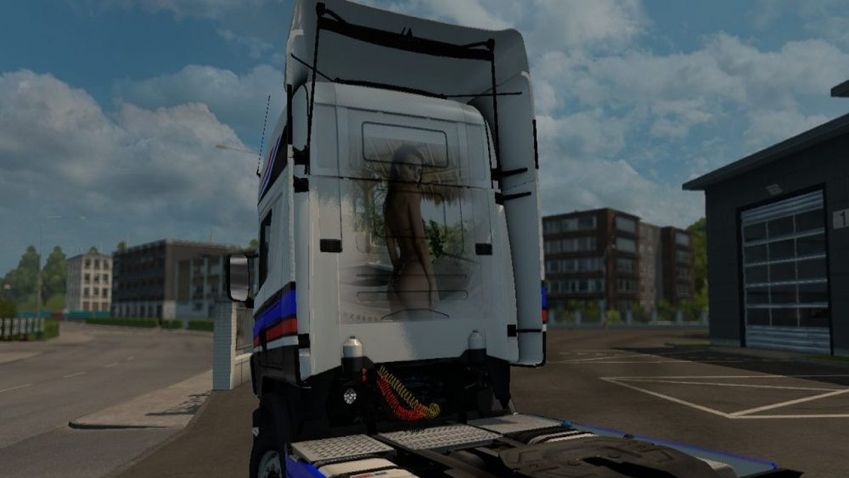 Nordic Wolf Skin for Scania RJL