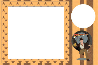 Indiana Jones, Free Printable Invitations, Labels or Cards.