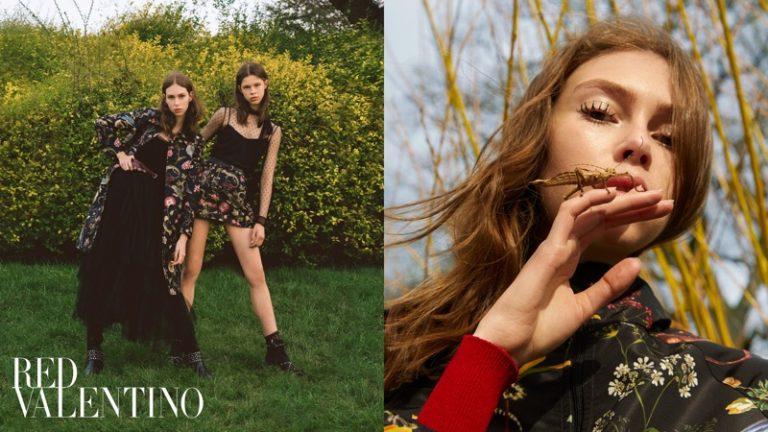RED Valentino Pre-Fall 2018 Campaign