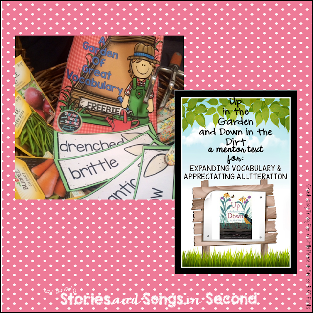 https://www.teacherspayteachers.com/Product/Spring-Book-Companion-for-Up-In-the-Garden-and-Down-in-the-Dirt-FREEBIE-2453225