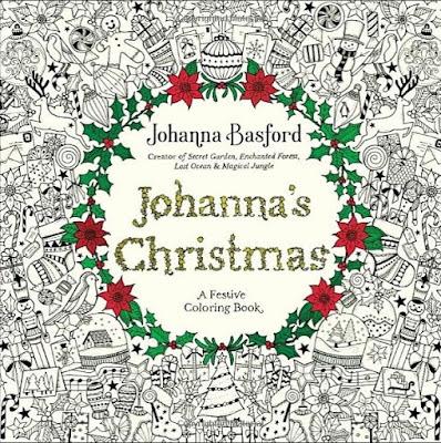 livro de colorir para johanna basford johanna's christmas coloring book preview por dentro pagina por pagina lançamento novidade como é review páginas ilustrações desenhos
