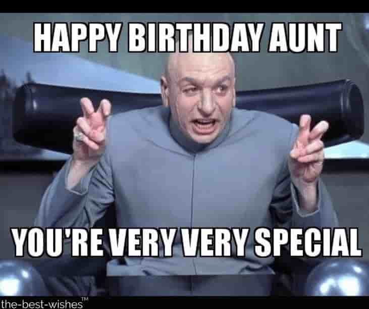 dr evil memes for birthday to aunt