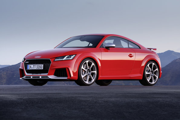 2017 Audi Tt Rs Coupe Red Pictures And Photos 2 Seater Sports Car Images