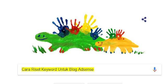 Cara Riset Keyword Untuk Blog Adsense Secara Gratis