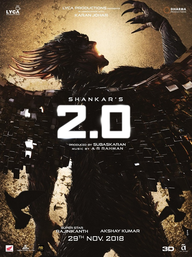 2.0 (2018) 720p Tamil Proper TRUE HQ HDTVRip Tamil x264 1.4GB