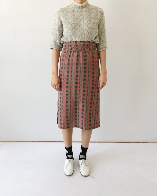 Ace & Jig Ramona Skirt in Twine/Filigree