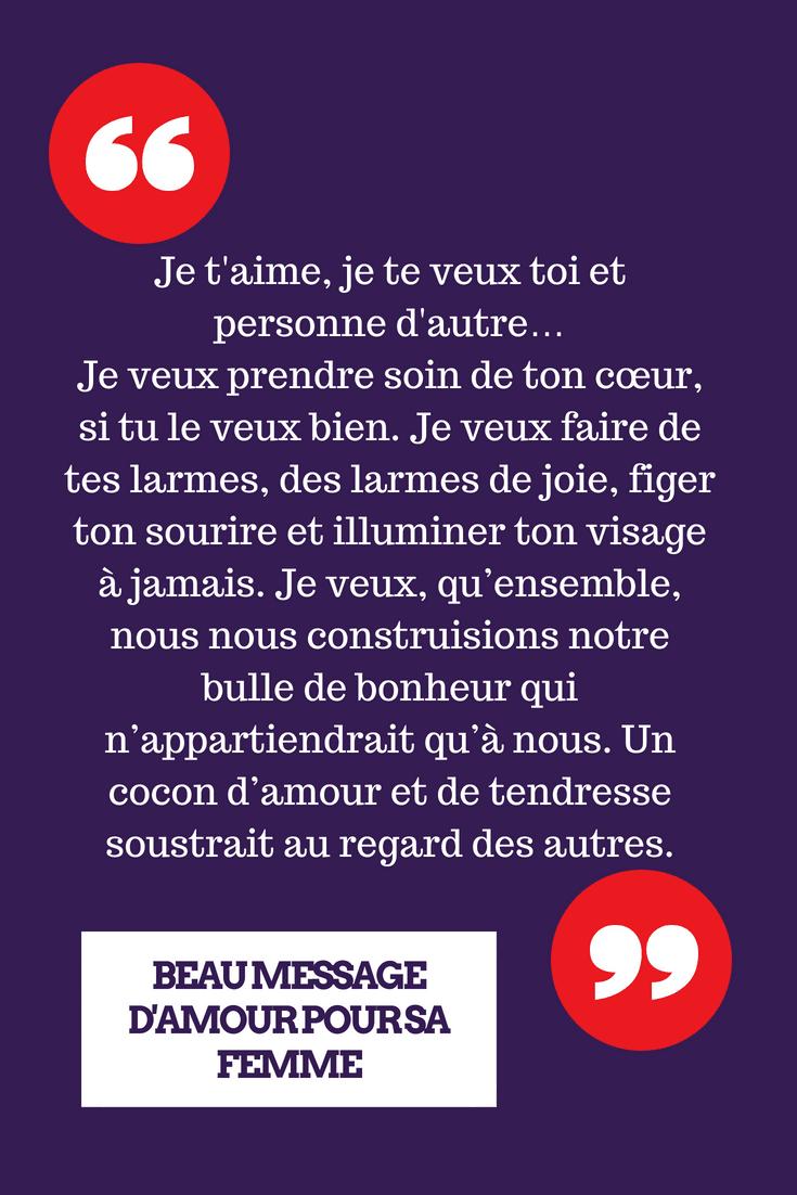 Les 20 Plus Beaux Messages Damour Pour Dire Je Taime à Sa