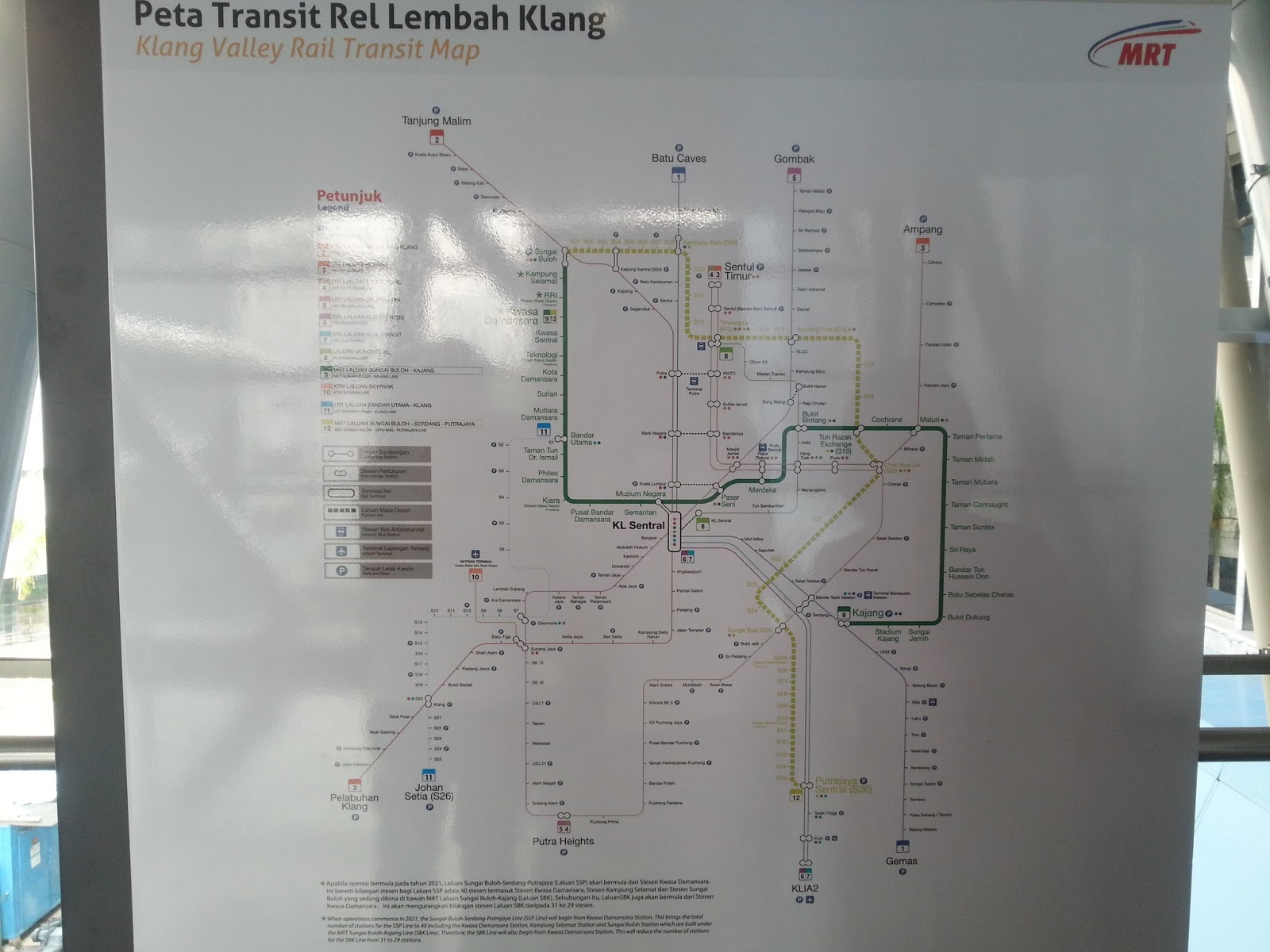 at the stations huge boards showing the entire public transportation network are displayed prominently to visitors