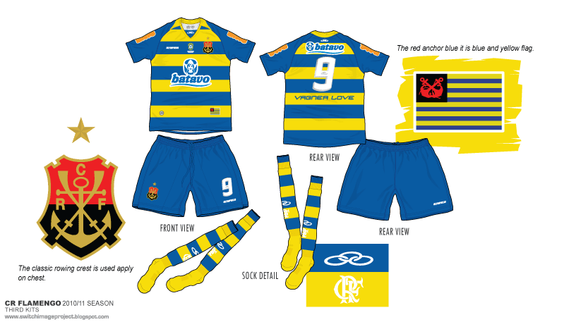 5d9aa3488 Flamengo CR with these 3rd kits in two match for the whole season.