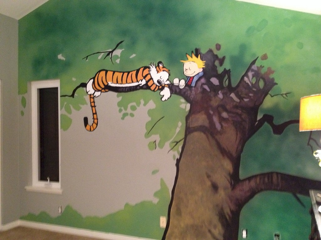 Calvin And Hobbes Wall Mural Choice Image home design wall stickers