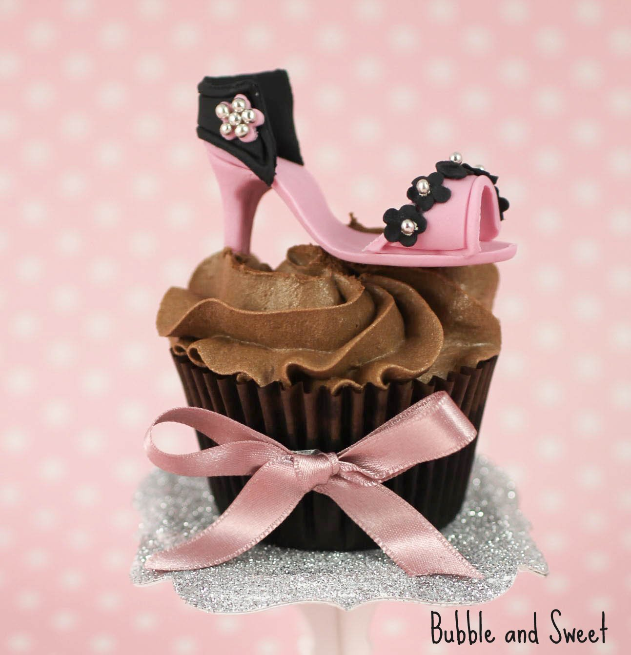 Bubble and Sweet: High Heel Shoe Cupcakes high maintenance