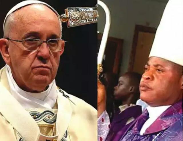 Pope-Francis-Bishop-Okpaleke