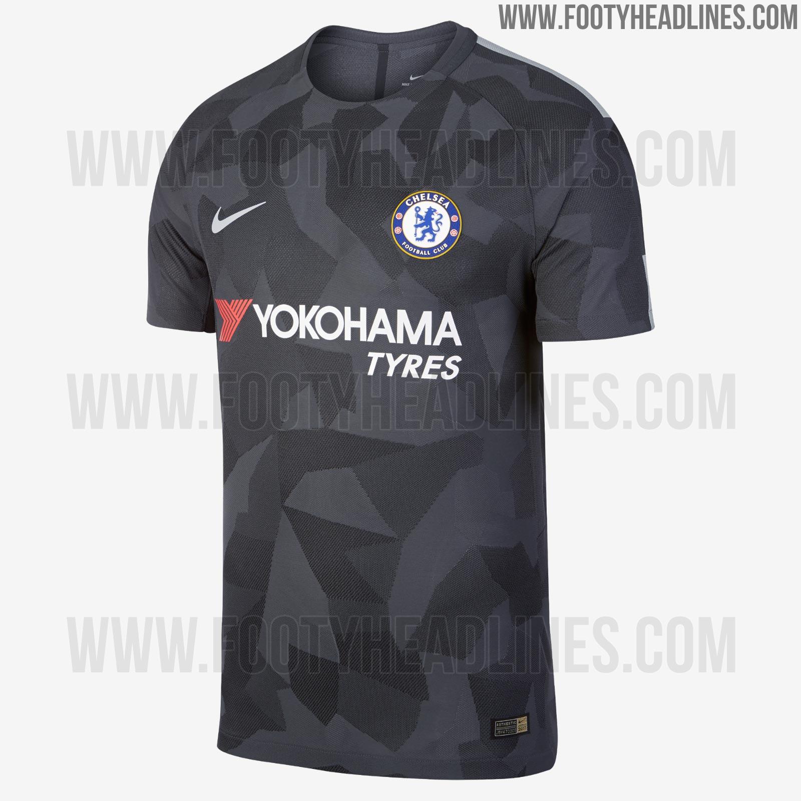 Nike 17 18 Third Kits Released Barcelona Chelsea