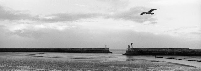 La rade de Port en Bessin
