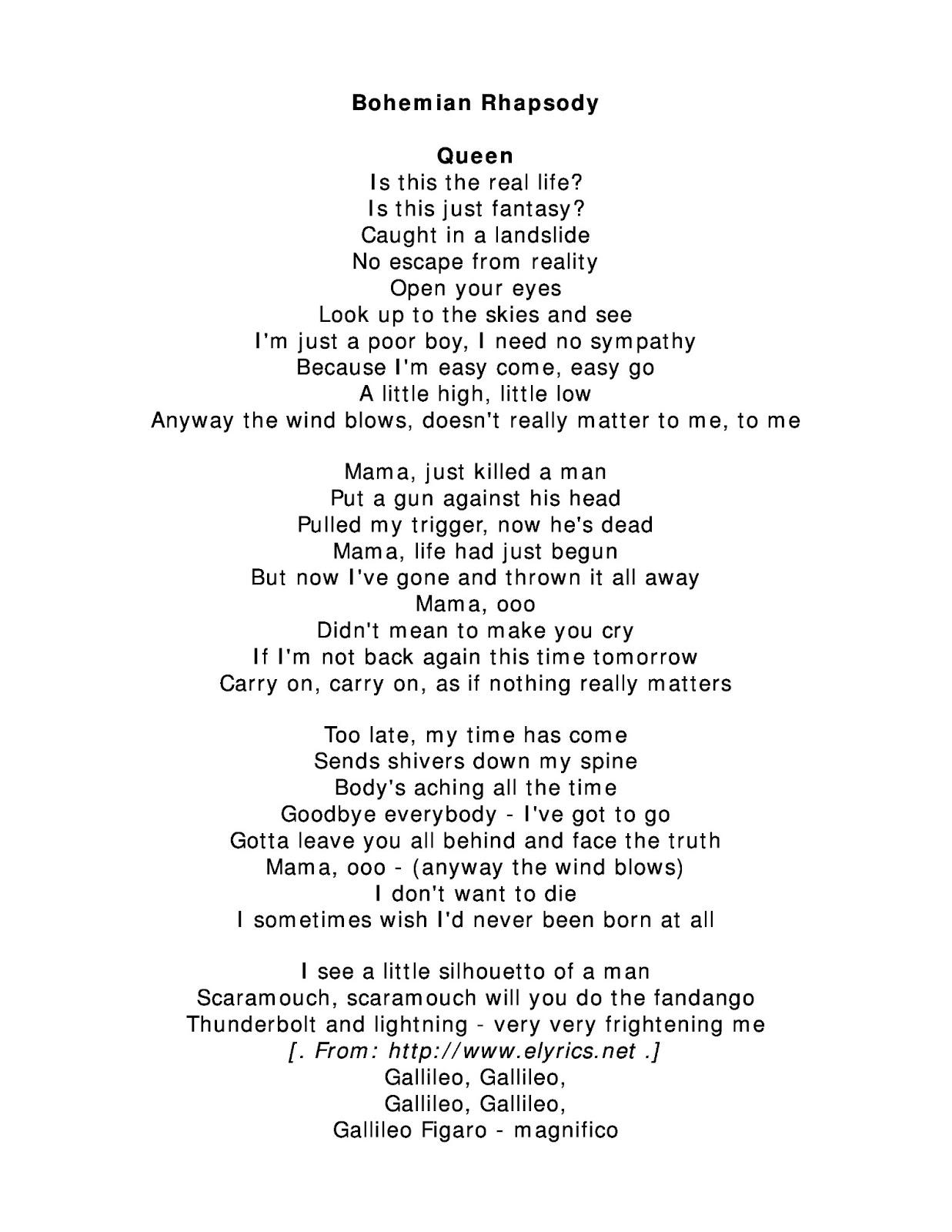 parole chanson queen mama