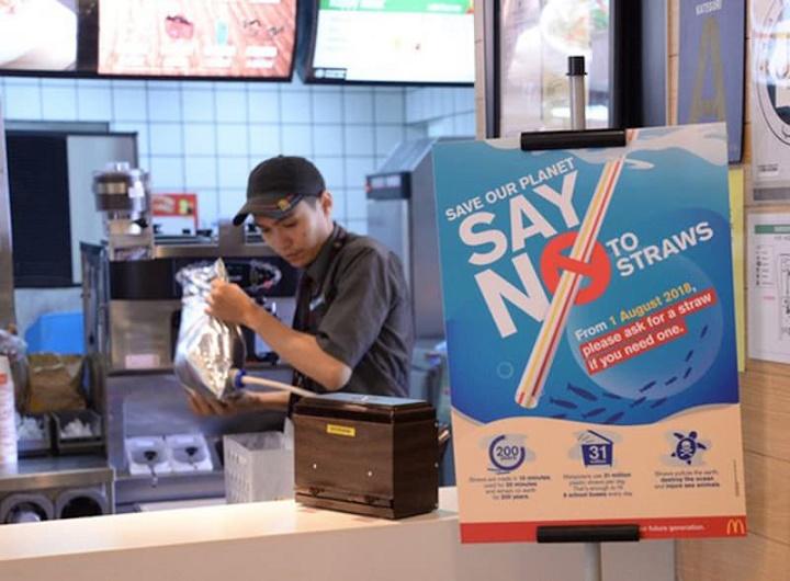 Mc Donald's Malaysia Tidak Lagi Sediakan Straw