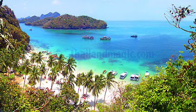 Islands are some of the best places to visit in Thailand here ang thong