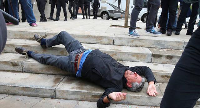 Aumentan a 761 las personas heridas por las cargas policiales con una lesión ocular por bala de goma
