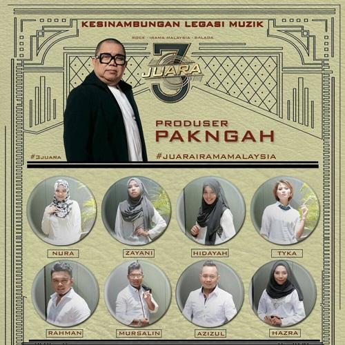 senarai peserta 3 juara 2016 musim 1, nama peserta 3 Juara kategori Irama Malaysia, gambar peserta 3 juara Irama Malaysia, konsert 3 juara tv3