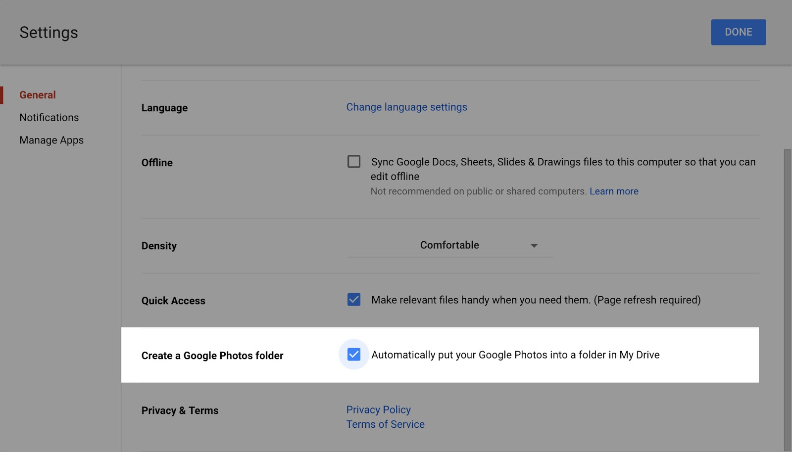 G Suite Updates Blog: Changing how you view photos and videos in