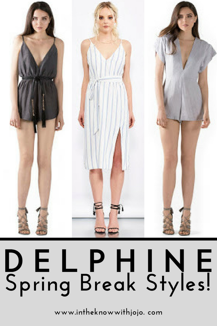 From European adventures to cross-country road trips, no matter where you're headed for spring break, Delphine is sure to make your getaway great.