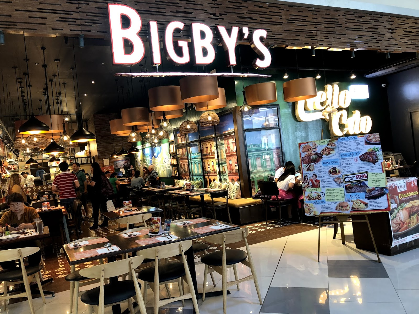 Bigby's Cafe and Restaurant for Kagay-an Experience (KEX) Tour 2018