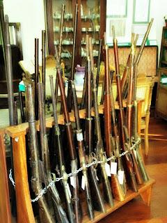 Museu Municipal Farroupilha de Triunfo (RS) - Armas Revolução Farroupilha