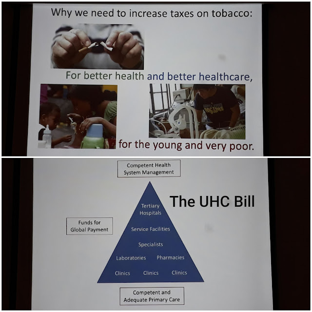 Tobacco Tax and You  by Antonio L. Dans, MD, MSc  UP College of Medicine