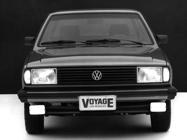 VW Voyage Los Angeles 1984