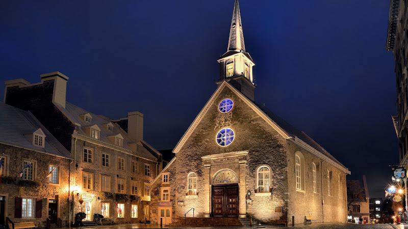 Travel through Quebec, Canada
