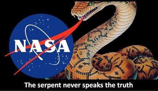 A NASA é mentirosa e ocultista