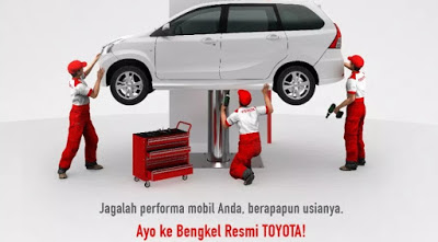Bengkel Toyota Jakarta Utara