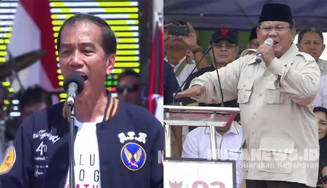 Marahnya Jokowi dan Prabowo