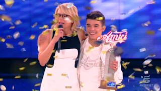 Moreno Donadoni vince Amici 2013