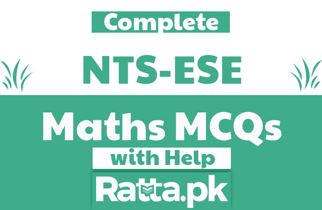 NTS ESE Science Maths MCQs with Answers and Notes pdf