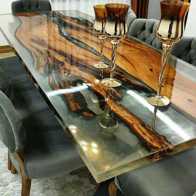 Guide%2BEpoxy%2BResin%2Bpouring%2Bglue%2Ba%2Btransparent%2Btable%2Bmirror%2B%25285%2529 Information Epoxy Resin pouring glue a clear desk reflect Interior