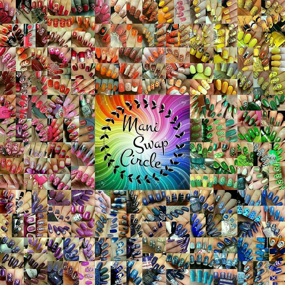 #maniswapcircle Rainbow Collage