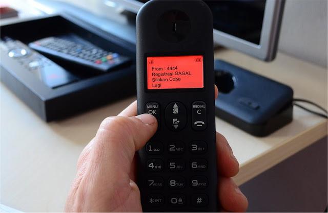 Kesulitan registrasi kartu via SMS