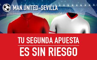 sportium Promocion Manchester United vs Sevilla 13 marzo