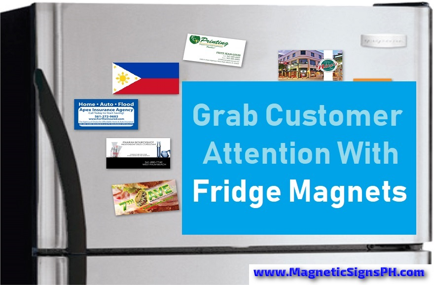 Grab Customer Attention With Fridge Magnets