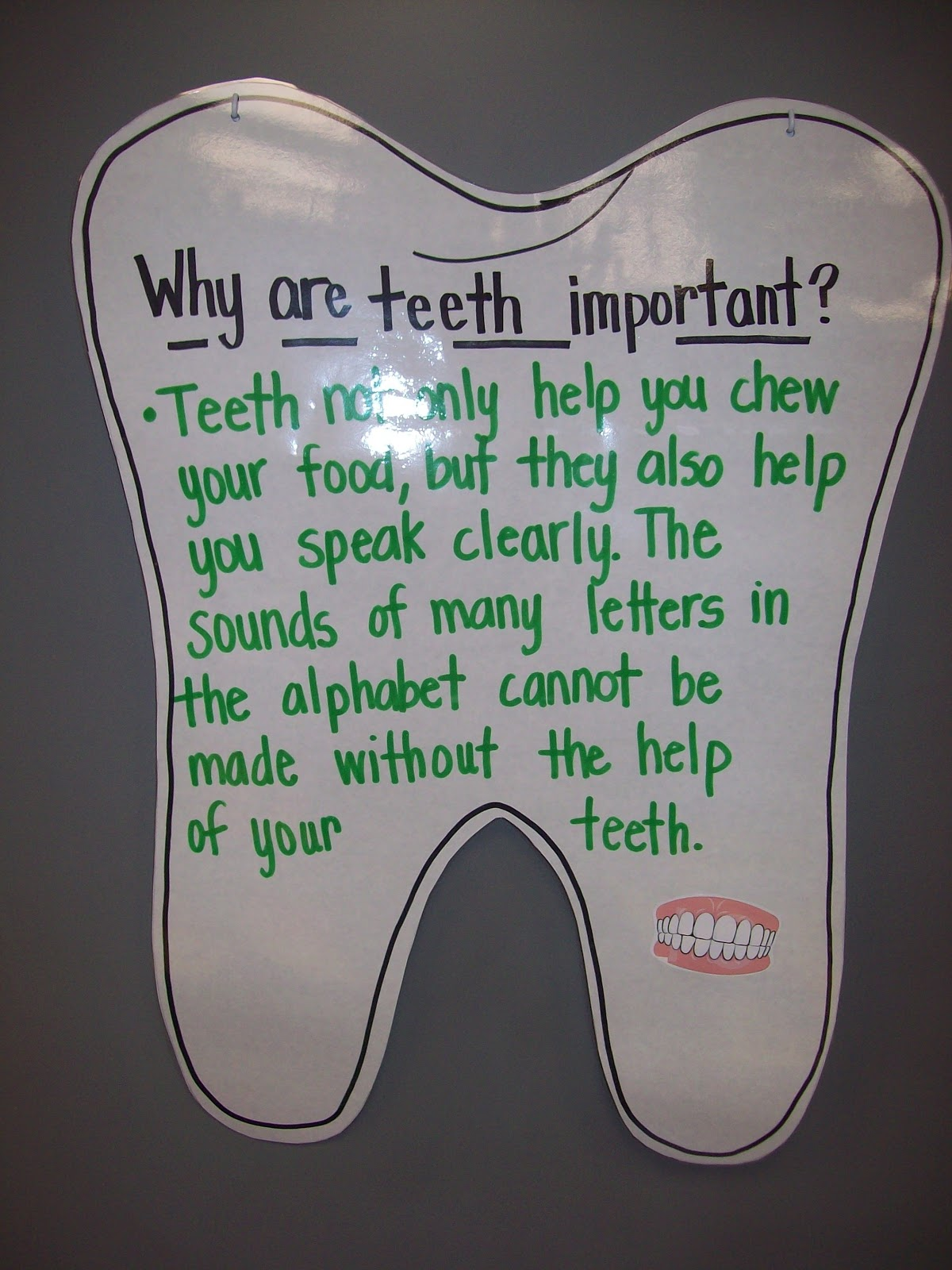 Teaching With Terhune Dental Health