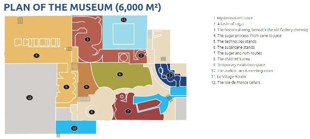 Mapa de L'Aventure Du Sucre