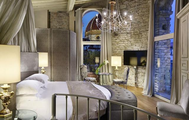 Hotéis no centro turístico de Florença