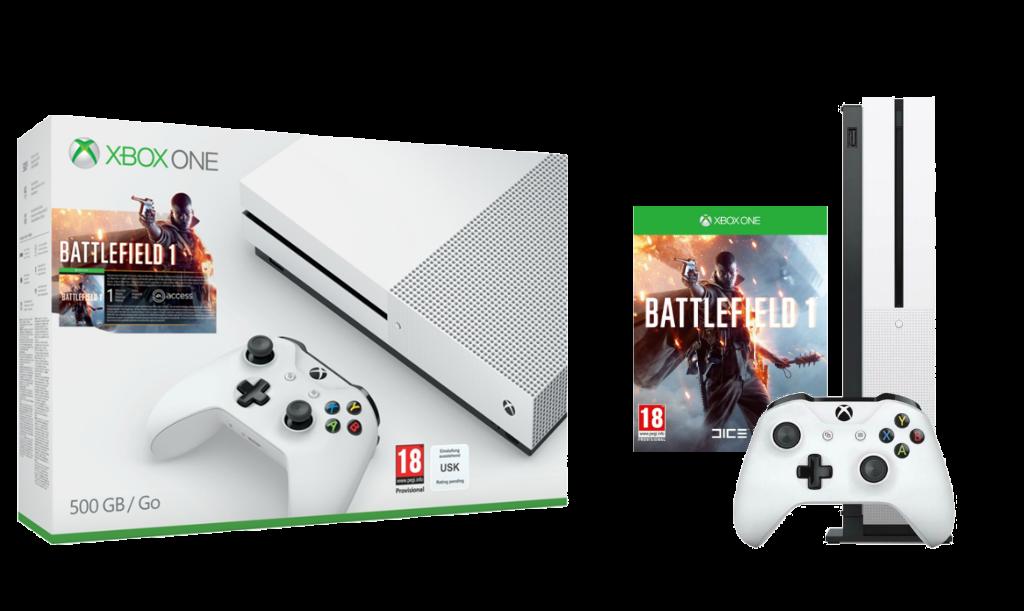 Xbox One S con un juego se rebaja a los 279 euros